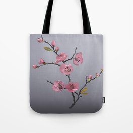 Flowering Pink Quince Tote Bag