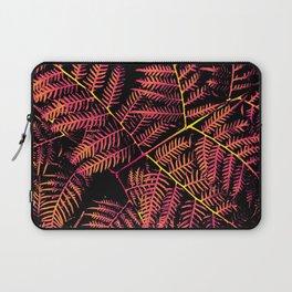 Peachy Pink & Yellow Bracken Laptop Sleeve