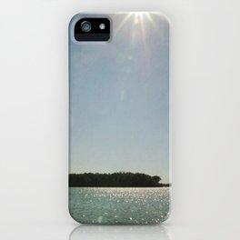 Lake Sunstar iPhone Case