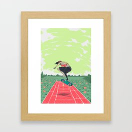 [ LET YOURSELF GO! ] the vietnamese lady Framed Art Print