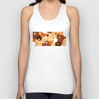 cookies Tank Tops featuring Gammy's Cookies by Naked N Pieces