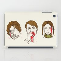 evil iPad Cases featuring No Evil Hannibal by Huebucket