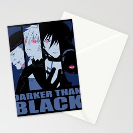 Darker Than Black Huang Hei Yin And Mao Stationery Cards