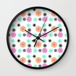 Memphis Constellation Wall Clock