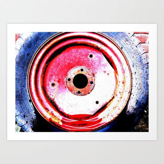 Beware Of The BLACK Hole! Art Print