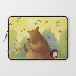 Friend Bear Laptop Sleeve