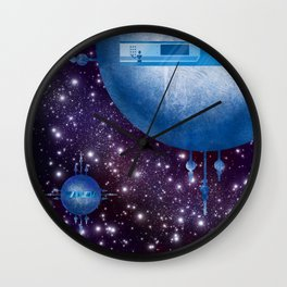 The Lonely Android Wall Clock