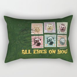 All Eyes On You Rectangular Pillow