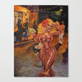 San Antonio Esta En Fuego, Henny!! Canvas Print