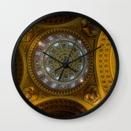 Domed. Wall Clock