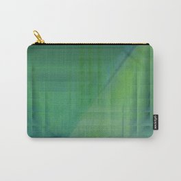Greentones abstract Carry-All Pouch
