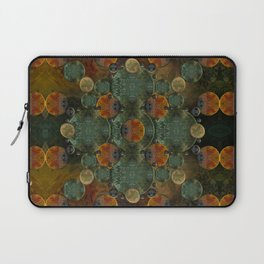 """Glass candy Mosaic (caramel pattern)"" Laptop Sleeve"