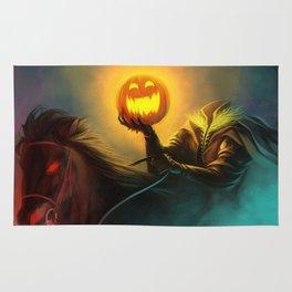 Headless Horseman: All Hallows' Eve Greetings Rug