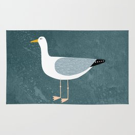 Seagull Standing Rug