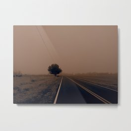 Old Country Road Metal Print