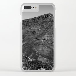 Table Mountain Panorama (Cape Town, South Africa) Clear iPhone Case