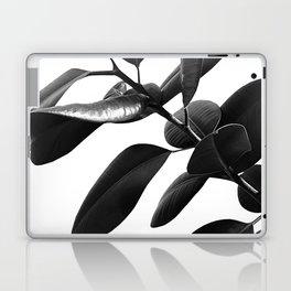 Ficus Elastica Black & White Vibes #1 #foliage #decor #art #society6 Laptop & iPad Skin