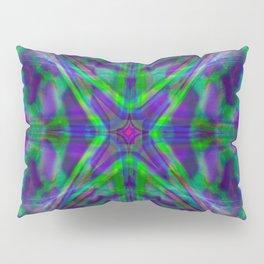 Quadro #4 Vibrant Psychedelic Optical Illusion Pillow Sham