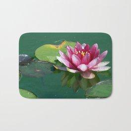 Pink Waterlilly Bath Mat