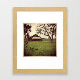 A Barn Framed Art Print
