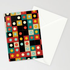 Colors on black Stationery Cards