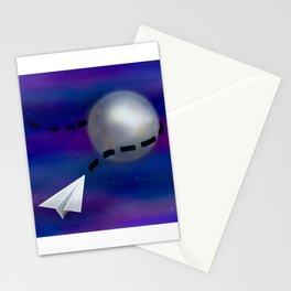 Cosmic Paper Flight Stationery Cards