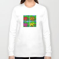 cows Long Sleeve T-shirts featuring Cows by Stefan Stettner