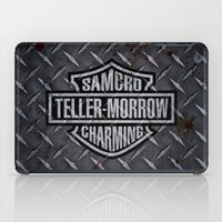 sons of anarchy iPad Cases featuring SAMCRO Teller-Morrow of Charming (Sons of Anarchy / Harley-Davidson) by HuckBlade