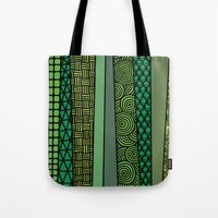 bamboo Tote Bags featuring Bamboo by glorya