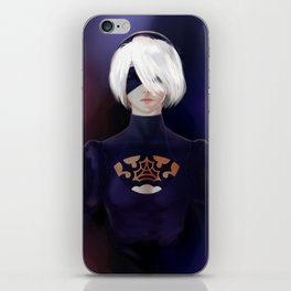 2B YoRHa iPhone Skin