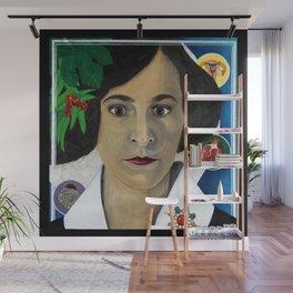 Symbols Of Madame Dali Wall Mural