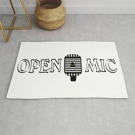 Open Mic Night Rug