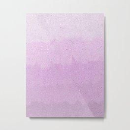 Lovely Lavender Lines Metal Print