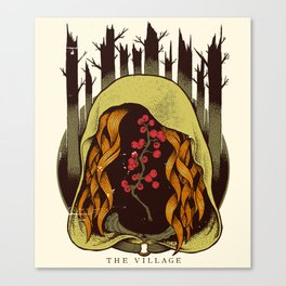 The Village - Movie Poster Canvas Print