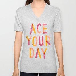 Ace Your Day Unisex V-Neck