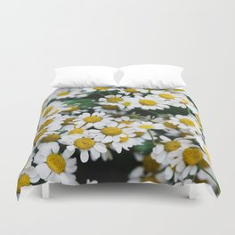Camomile Wild Flowers Duvet Cover