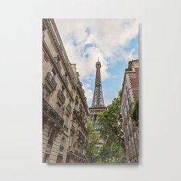 Hello, Paris Metal Print