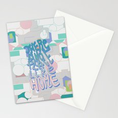 There is NO Place Like Home  Stationery Cards