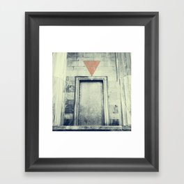 In(come) Framed Art Print