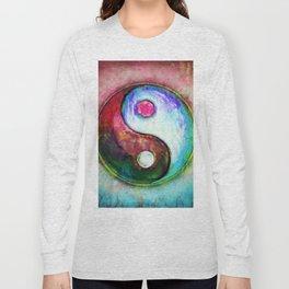 Yin Yang - Colorful Painting IV Long Sleeve T-shirt