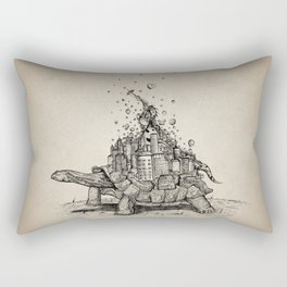 Tortoise Town Rectangular Pillow