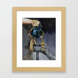 Exchange-Joy for Mourning Framed Art Print