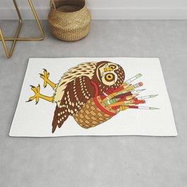Art Owl Rug