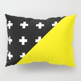 Memphis pattern 80 Pillow Sham