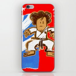 Taekwondoin iPhone Skin