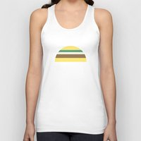 taco Tank Tops featuring Taco by parallelish