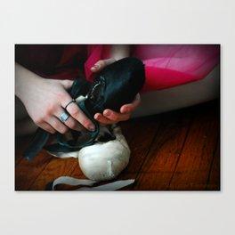 Dancer Shoes  Canvas Print