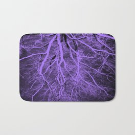 Passage to Hades Purple Bath Mat