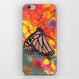 Monarch Feeding on Lantana iPhone Skin
