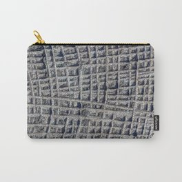 Sawn in Blue Granite Wall Carry-All Pouch